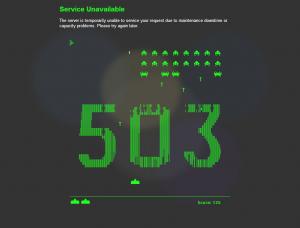 503 Service Unavailable