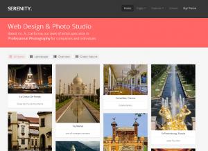 Serenity  HTML Responsive Portfolio
