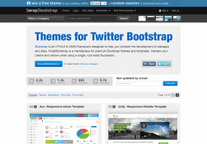 Themes for Twitter Bootstrap   WrapBootstrap
