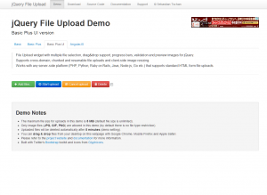 jQuery File Upload Demo